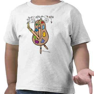Toddlers Artist Shirt