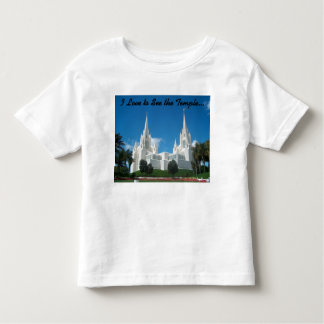 Toddler's I Love to See the Temple T-shirt
