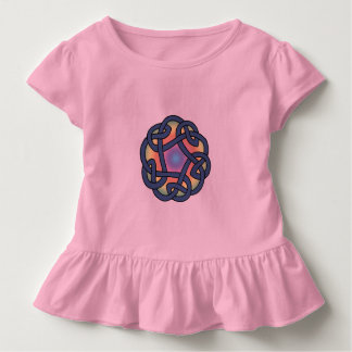 Toddler's Pink Celtic Daisy Chain Knot Shirt