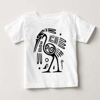 Toddler's T-Shirt With Mayan Bird Design