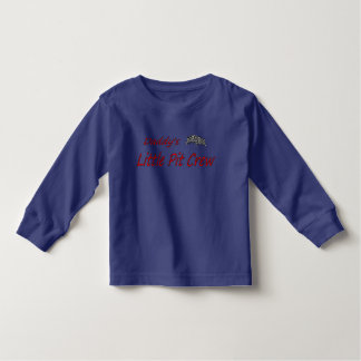 "Toddler's Top with ""Daddy's Little Pit Crew"" T Shirt"