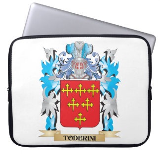Toderini Coat of Arms - Family Crest Laptop Computer Sleeves