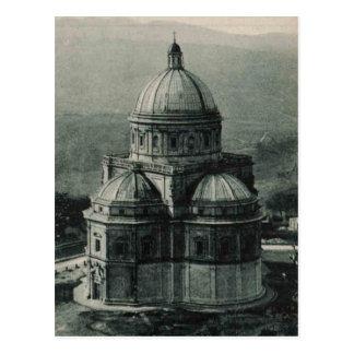 Todi Basilica church Replica 1921 Postcard