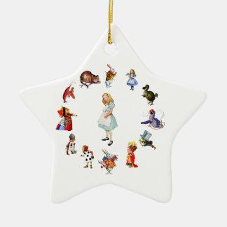 Todo alrededor de Alicia en el país de las maravil Ornamente De Reyes