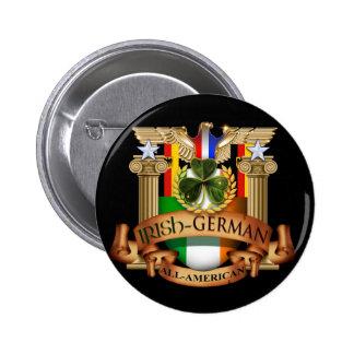 Todo-Americano alemán irlandés Pins