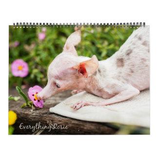 Todo calendario de Rosie