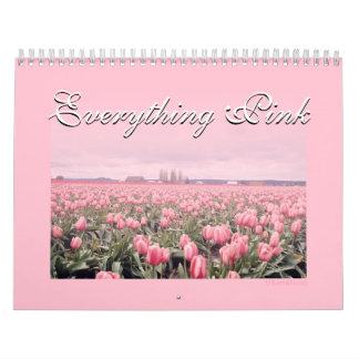 Todo calendario rosado