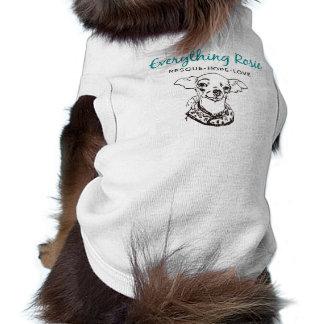 Todo camiseta del mascota de Rosie Ropa Perro