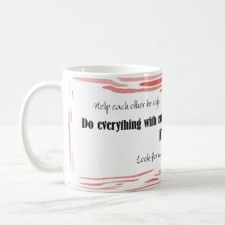 Todo con entusiasmo tazas de café