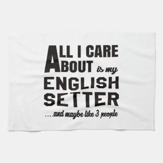 Todo cuidado de i es alrededor mi organismo inglés toallas