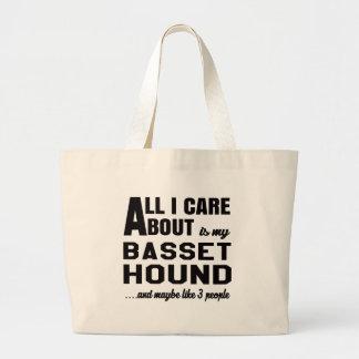 Todo cuidado de i es alrededor mi perro de bolsa tela grande