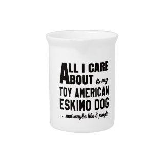 Todo cuidado de i es alrededor mi perro esquimal jarras de beber