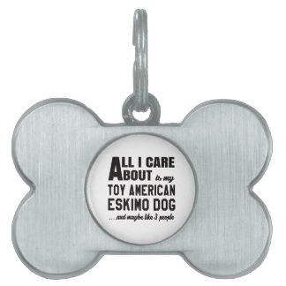 Todo cuidado de i es alrededor mi perro esquimal placa mascota