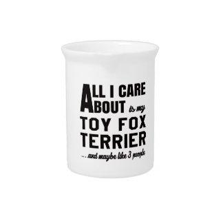 Todo cuidado de i es alrededor mi terrier de Fox Jarra Para Bebida