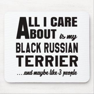 Todo cuidado de i es alrededor mi terrier ruso alfombrillas de raton