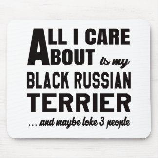 Todo cuidado de i es alrededor mi terrier ruso alfombrillas de ratón