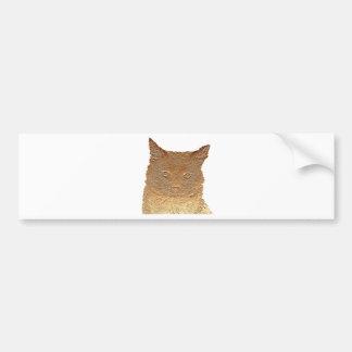 Todo diseño de los gatos pegatina para coche