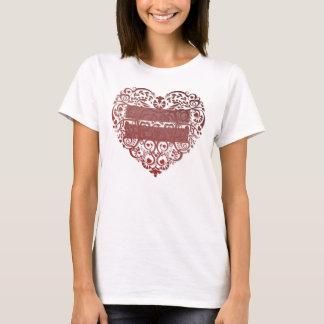 """""""Todo el amor es camiseta para mujer"""" del corazón"""
