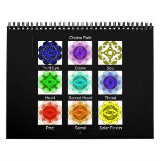 """""""Todo el calendario de equilibrio 2010 del chakra"""""""