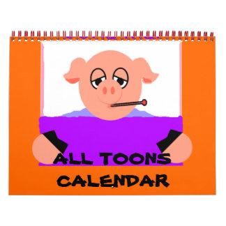 Todo el calendario de Toons