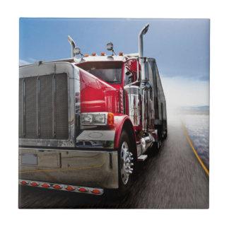 Todo el camionero americano azulejo cuadrado pequeño