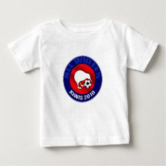 Todo el camisetas 2010 y regalo de los fanáticos playera para bebé