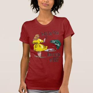 Todo el camisetas de la pesca del chica