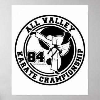 Todo el campeonato del karate del valle póster