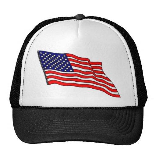 Todo el casquillo americano del diseño gorras