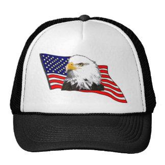 Todo el casquillo americano del diseño gorros