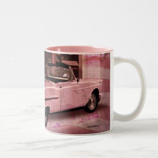 Todo el collage americano 50s tazas de café