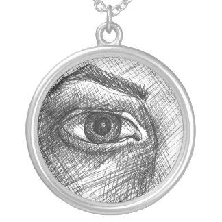 Todo el collar del ojo que ve