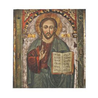 Todo el Cristo - Chrystus potentes Pantokrator Blocs De Papel