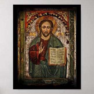 Todo el Cristo - Chrystus potentes Pantokrator Impresiones