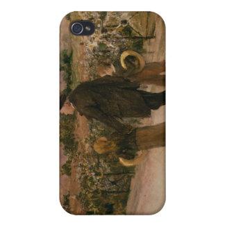 Todo el día de almas, c.1882 iPhone 4 carcasa