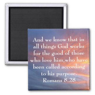todo el dios de las cosas trabaja para el buen ver iman