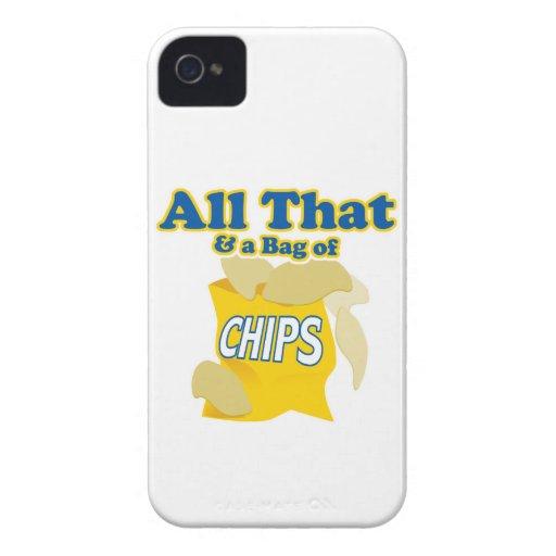 todo el el y bolso del humor divertido de la iPhone 4 carcasas