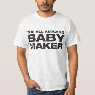 Todo el fabricante asombroso del bebé playera