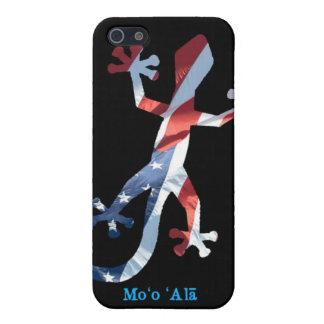 Todo el Gecko hawaiano americano iPhone 5 Fundas