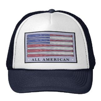 Todo el gorra patriótico de la bandera americana d