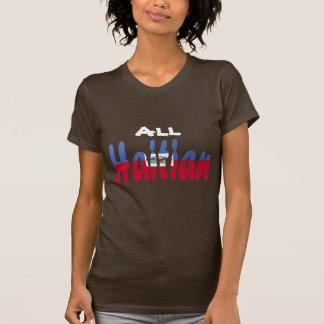 Todo el haitiano camisetas