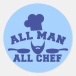 TODO EL HOMBRE - todo el cocinero Etiquetas