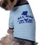 TODO EL HOMBRE - todo el cocinero Ropa De Mascota