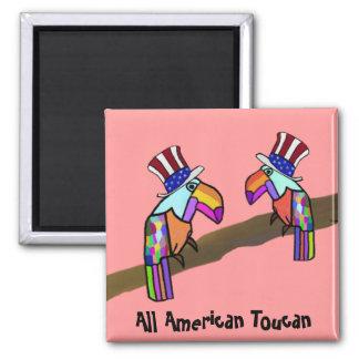 Todo el imán americano de Toucan
