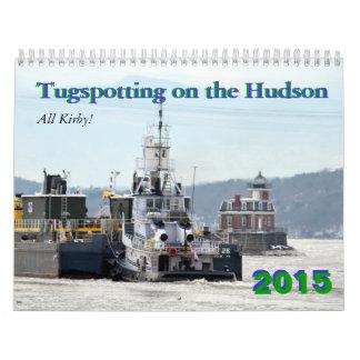 ¡Todo el Kirby! Tugspotting en el Hudson Calendario