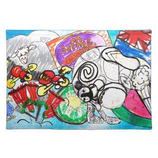 """""""Todo el kiwi de las cosas"""" creó de los dibujos de Mantel"""
