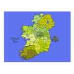 Todo el mapa irlandés de Irlanda Postal