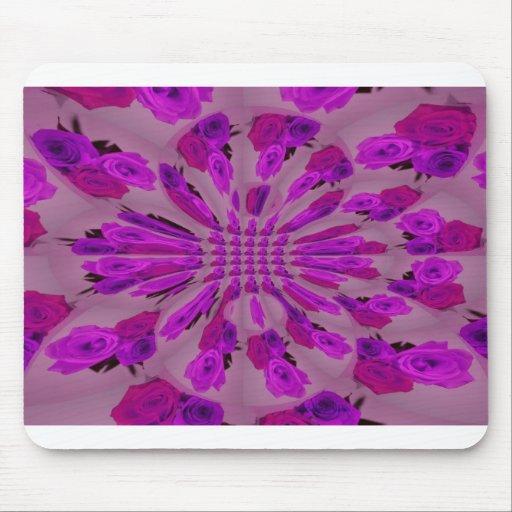 Todo el modelo púrpura de la explosión de un solo  alfombrillas de ratón