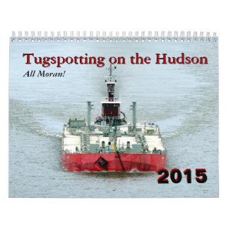 ¡Todo el Moran! Tugspotting en el Hudson Calendario