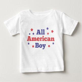 Todo el muchacho americano playera de bebé